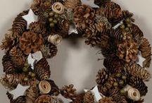 z szyszeczek / dekoracje z darów natury