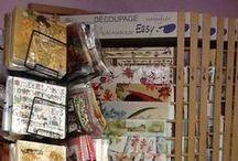 Decoupage - Fai da te - hobby / Prodotti per il Decoupage  Carte - Tovaglioli - Colle - Vernici - Colori - Oggettistica