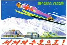 NORTH KOREA PROPAGANDA POSTCARDS / Unused postcards distributed during the Expo 2015 at the pavillion of Democratic People's Republic of Korea .