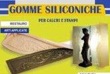 Gomme siliconiche - Prochima Silicon rubber / La gomma siliconica è un prodotto liquido o in pasta che vulcanizza a freddo mediante un catalizzatore, dal quale si ottengono composti stabili, dotati di elevata elasticita.