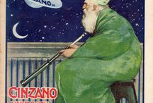TOURING CLUB ITALIANO - Illustrated covers of the italian monthly magazine. / The TOURING CLUB ITALIANO monthly magazine, issued from 1895 to 1920, has amazing illustrated covers with advertising of important italian brands.