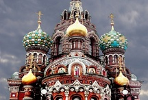 """Russian Churches / There is such a thing as """"natural theology,"""" when people through the beauty of the world comes to the vision of the Creator. And if a person sees and spectacular temple, as it connects heaven and earth, the feeling of joy and beauty will always be in his heart / by Galina Avrutevici"""