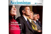 CaixaBank con Papelaweb / Accionistas