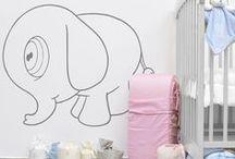 Baby Linens / Tu bebé necesita sólo lo mejor, por eso te damos algunas ideas para decorar la habitación de tu bebé y que se sienta siempre en tus brazos.