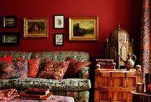 Colored interiors / by Galina Avrutevici
