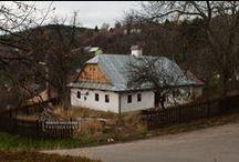 Štiavnické Bane, Slovakia / Village and country