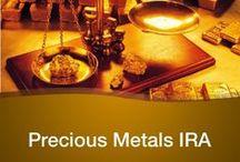 Precious Metals /  A precious metal is a rare metallic chemical element of high economic value.