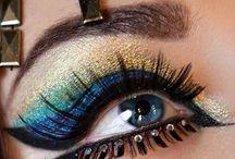 Egyptian Eye Make-up / Egyptian Eye Make-up