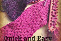 Loom knitting galore