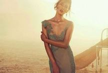Blue Bridesmaid Dresses Inspiration / Our Bridesmaids Collection coming Spring 2015 is inspired by Ready to Wear