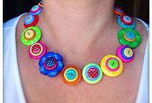 Button jewelry / by Melissa Beard