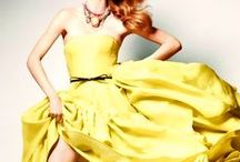 Yellow Bridesmaids Inspiration