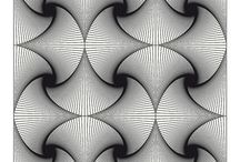 Op Art & Optical Illusions / Optical Illusions and/or Op Art