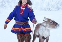Saami Culture / The Sami people,are an indigenous Finno-Ugric people inhabiting the Arctic area of Sápmi, which today encompasses parts of far northern Norway, Sweden, Finland, the Kola Peninsula of Russia, and the border area between south and middle Sweden and Norway. Traditionally, the Sami have pursued a variety of livelihoods, including coastal fishing, fur trapping, and sheep herding. Their best-known means of livelihood is semi-nomadic reindeer herding.