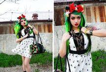 Fashion Inspiration: Amelia Arsenic / Designer / Art Director / Performer / Stylist.