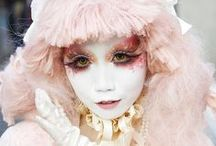 Fashion Inspiration: Minori / Minori is shironuri artist.
