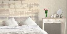 Bedroom / The bedroom is a place for relaxation and sleep and the decor we choose affects how we feel in that space. Galerie has many wallcoverings that can create an enjoyable and calming haven perfect for winding down after a busy day.