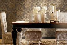 A Touch of Glam! / Find wallpapers that'll give your home that glamorous edge.