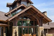 Chalet/Timber/Log/Stone/Barn homes