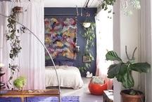 White living rooms
