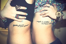 Tattoos / by Colleen Mchugh
