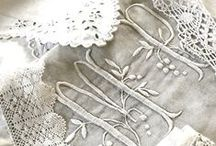 Ribbon and lace and tactile textiles / A textile heaven