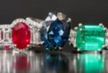 Sapphires, Rubies and Emeralds / Sapphire, emerald, and ruby engagement rings, earrings, bracelets and bridal jewelry at Soho Gem NYC.
