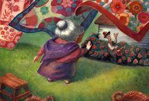 Bloemen e a quilts