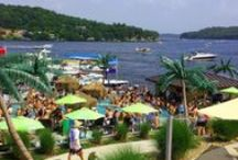 Places to Stay at the Lake of the Ozarks / We are frequently asked by people where to stay at the lake, so here's a collection of great places to stay that will fit everyone's budget and interests.