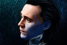 *Kneels before Loki* / by Tina Aldrich
