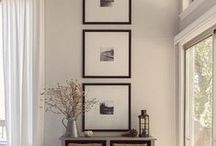 Gallery Walls / How and where to display your custom framed art