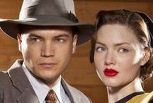 """Emile Hirsch & Holliday Grainger / Emile & Holliday are gorgeous under 30 actors, currently best known for their portrayals of """"Bonnie & Clyde."""" If you don't know who they are, you need to!  / by Jonna Smith"""