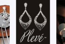 Plevé Designer Jewelry NYC / Beautiful mosaic works of wearable art with sapphires, white diamonds, & fancy diamonds. Buy online: http://www.sohogem.com/pleve/