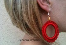 Jewelry in Crochet / Earrings, necklaces,...everything you need in crochet