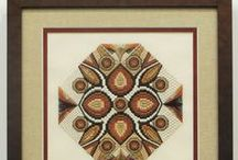 Fabric Art and Stitchery / From stitchery to scarves, flags to batiks, weaving, stitching, and dying fabric is an ancient art that makes for a striking custom frame display.