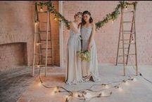 Bridesmaid Dresses | 2016 Caroline Campion Collection / New Zealand designed luxury Silk two piece bridesmaid tops and skirts by Caroline Campion. View at http://www.carolinecampion.com/collection/bridesmaid-15/