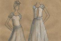 Designs / Bridal designs on paper