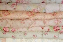 My Quilts - A quilted home / A collection of North country English Quilts from Durham and Allendale and Welsh, French and American Quilts.