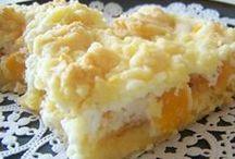 peach desserts / peach desserts