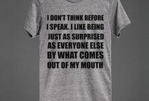 T-shirt caption goals