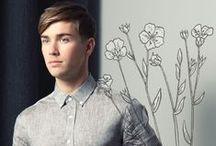 Chemises en lin pour homme / Le lin est une matière naturelle et agréable tout particulièrement appréciée l'été.
