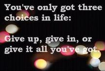 """...""""Quotes to Live By""""..."""