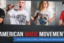 Oscar Mike Apparel / The Oscar Mike Apparel line is an all American made line.  A portion of the proceeds go back to the Oscar Mike foundation which aims to keep injured veteran active and ON THE MOVE!