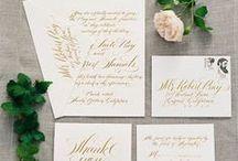 Invitations + Paper Goods / by Le Magnifique