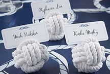 Knot Your Typical Wedding / June means wedding season – if you're envisioning a nautical theme these wedding ideas make tying the knot memorable. / by RebateBlast
