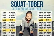 October Fitness Challenges / http://www.2sweatbees.com/2014/09/30/october-challenges/