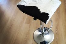 Cowhide Stools / Cowhide stools handmade with cowhide finish. Chrome stools on gas lift swivel base. Made with premium cowhide to suit your colour scheme. Custom orders in every colour cowhide available to buy. Orders completed in 3-5 days. Shipping worldwide. #cowhidestools, #cowhideproducts, #cowhidebarstools