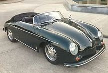 porsche 356 speedster / a more stripped down version of the 356 for road and track...intended for the emerging california market... / by Nolan John