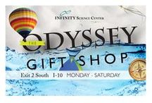 The Odyssey Gift Shop / The Odyssey Gift Shop at INFINITY Science Center has something to satisfy every science-geek PLUS MORE!