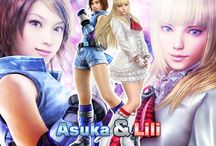 "Lili & asuka Tekken / Two different people in one universe. Please feel free to invite anyone. Just make sure it's ""lili & Asuka"" related. Ready set fight!!!!!- Tekken Force Mon&Sach"